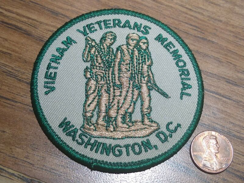NEW Vietnam Veterans Memorial Washington DC Embroidered Voyager Iron-on Patch