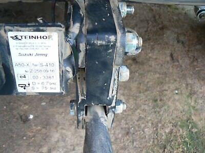 jimny anhängerkupplung adapter zum tiefer legen der anhängk.