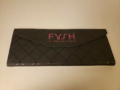 "FYSH UK Sunglasses Hard Case 2"" x 6.5"