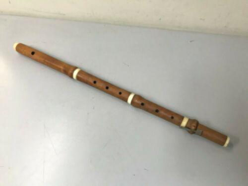 Antique J. A. & W. Geib Boxwood Flute