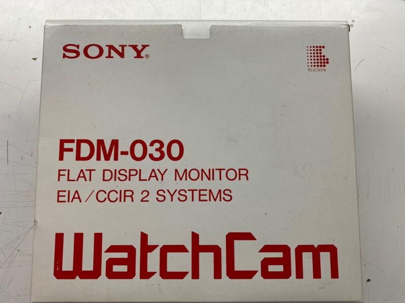 Sony FDM-030 WatchCam Monitor CIB NOS