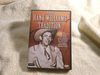 Hank Williams - In the Hank Williams Tradition (DVD, 2002) *LIKE NEW* FREE