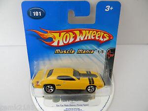 1930 Hot Wheels 2005 #101 Muscle Mania 1971 Plymouth GTX - <span itemprop=availableAtOrFrom>Steiermark, Österreich</span> - 1930 Hot Wheels 2005 #101 Muscle Mania 1971 Plymouth GTX - Steiermark, Österreich