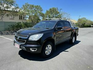 2013 Holden Colorado RG MY14 LT Black 6 Speed Automatic Dual Cab Chermside Brisbane North East Preview