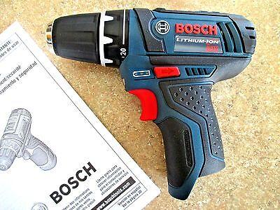 New Bosch Ps31 Ps31b 12 Volt 12V 2Spd Li Ion Cordless 3 8  Drill Driver Baretool
