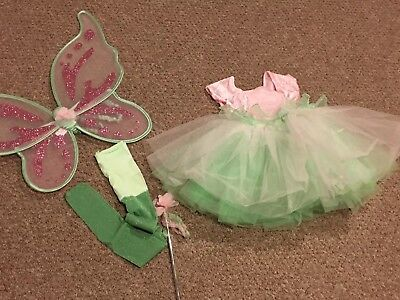 GYMBOREE WOODLAND FAIRY COSTUME WITH WINGS size - Woodland Fairy Wings