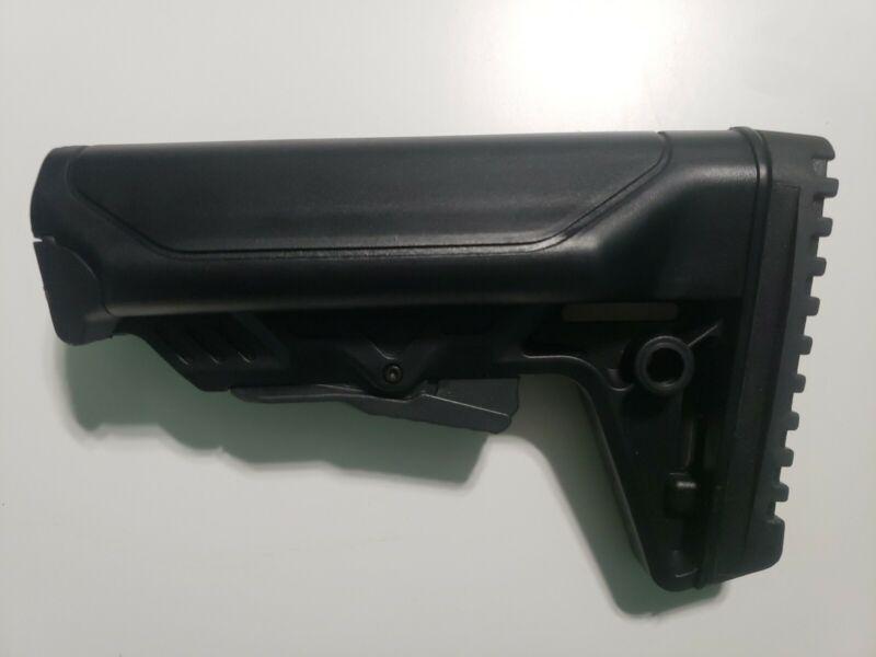 JE Designs Sopmod Black Buttstock Mil-Spec Sized USA