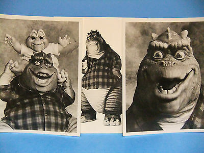 Dinosaurs TV Sitcom Promo LOT B&W 8x10 Original Press Photo Earl Fudgy Comedy