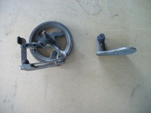 Vintage Cast Iron Industrial Sewing Machine Bobbin Winder