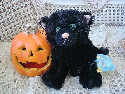 Webkinz Halloween Black Cat - WEBKINZ HALLOWEEN BLACK CAT RETIRED LIMITED EDITION **NEW WITH CODE*** SO CUTE