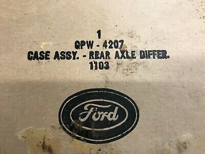 WW2. G503  WILLYS-FORD  Differential  assembly   Nos.