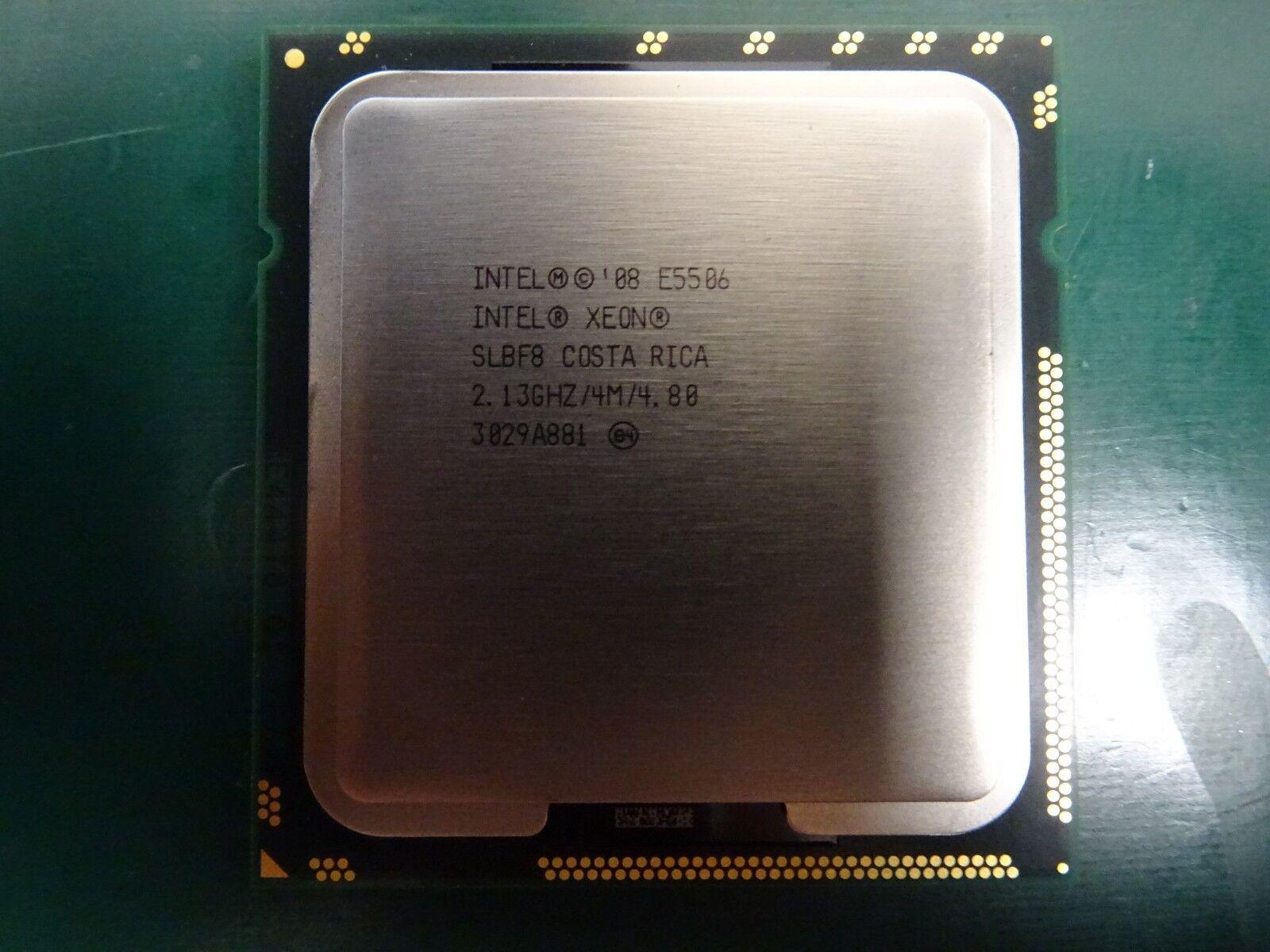 Intel Xeon E5506 CPU 2.13GHz 4MB Cache 4.8GT//s LGA1366 Quad Core Processor SLBF8