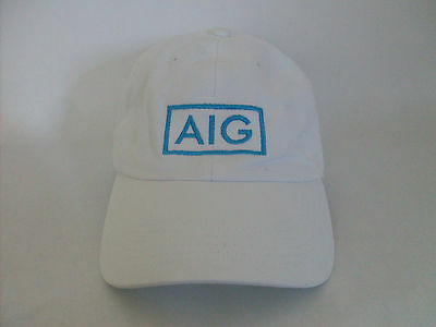 American International Group Aig Embroidered Adjustable Hat