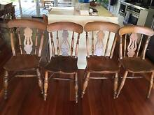 Eight antique english farmhouse chairs Avalon Pittwater Area Preview