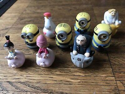 Rewe Minion Woobleez 9 Figuren Verschiedene ()