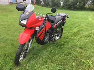 2009 Kawasaki KLR 650 ! LOW KMs with extras!