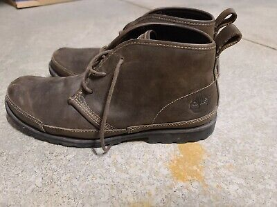 Timberland Earthkeepers Brown Leather Chukka Boots 84587 Mens Size 10M