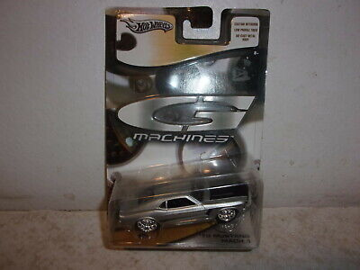 Hot Wheels G-Machines Silver '70 Mustang Mach 1