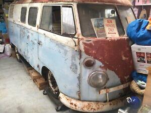 1966 Volkswagen Kombi Manual Van/Minivan