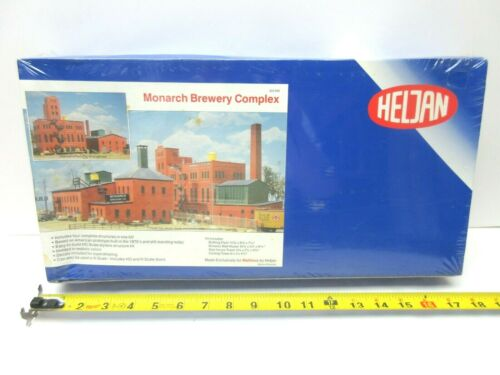 HELJAN 322-690 MONARCH BREWERY COMPLEX - HO OR N SCALE - 4 BUILDING COMPLEX KIT