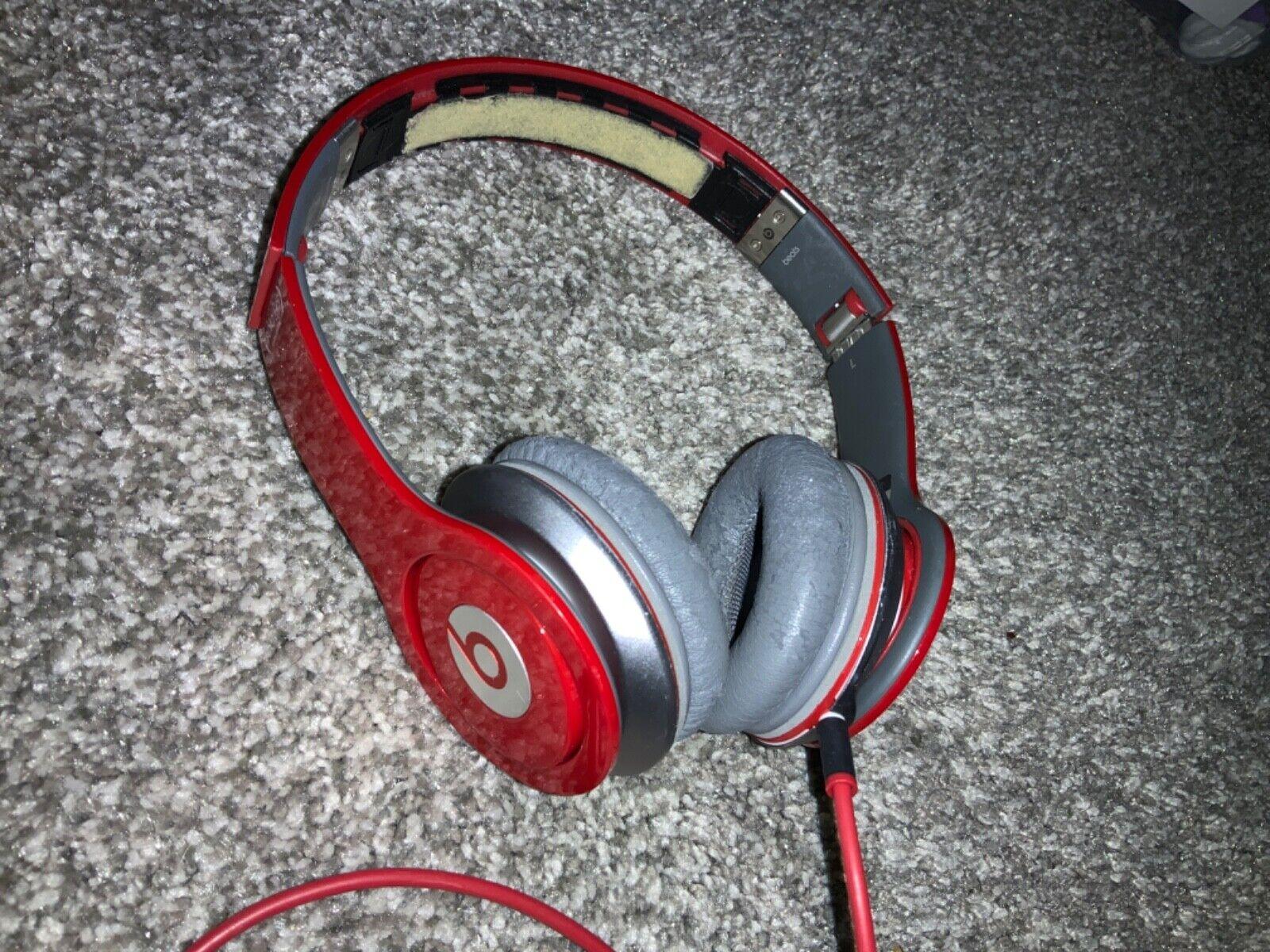 Beats Headphones Red - $17.99
