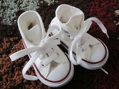 Toddler Boys / Girls/  Red / White Converse All Star High Top Shoes Size 3 EUC