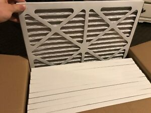 """12 pack 16 x 20 furnace filter 1"""" thick"""