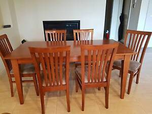 Dinning suite 7 piece solid wood FOR SALE Vale Park Walkerville Area Preview
