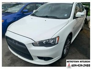 2015 Mitsubishi Lancer SE; No accidents!