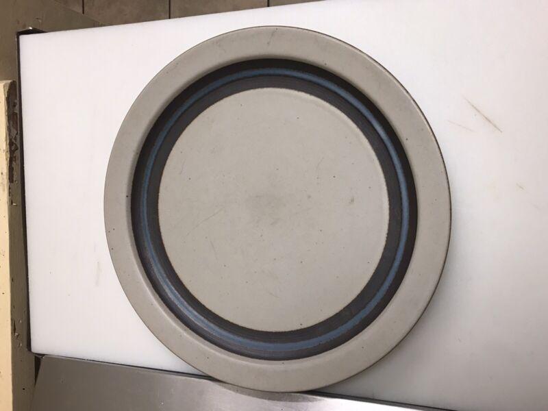 Handcrafted Horizon Otagiri Japan Mid Century Stoneware Dinner Plate