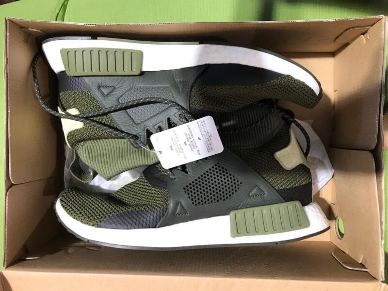 da8bee0c15e06 New Adidas NMD XR1 Winter Green Mens Running Shoes Boost US11 ...