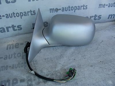 1998-2004 CADILLAC SEVILLE SLS STS LEFT POWER DOOR REAR SIDE VIEW MIRROR SILVER