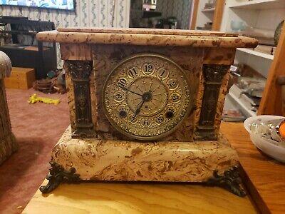 Antique Seth Thomas Adamantine Mantle Clock ~ Rare Apache Model ~ 1908 ~