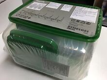 Reusable 2pack 17pcs + 1pack 5pcs plastic clear food container New! Ultimo Inner Sydney Preview