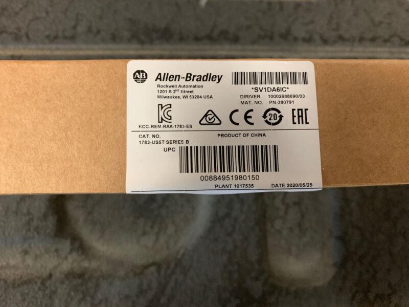 Allen Bradley, Stratix 2000, Ethernet Switch, 1783-US5T, SER B, New, Sealed Box