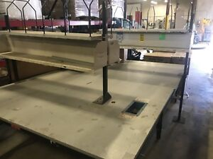 Industrial Packaging Work Tables 84x60