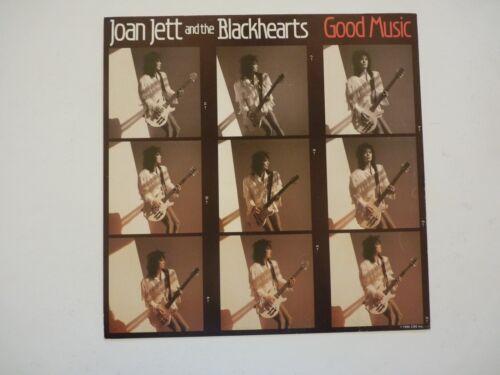 Joan Jett Blackhearts Good Music LP Record Photo Flat 12x12 Poster