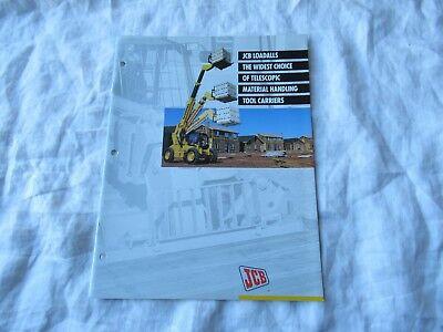 Jcb Loadall Material Handling Equipment Catalog Brochure