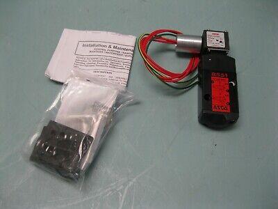 14 Npt Asco Wt8551a001mms Spool Valve New H19 2805