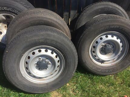 Ford Ranger wheels & tyres