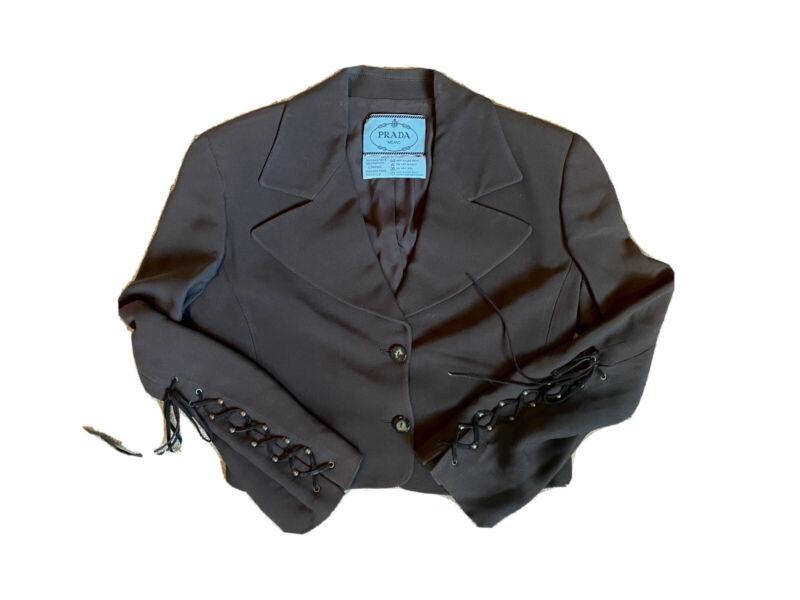 Vintage Brown PRADA Pantsuit
