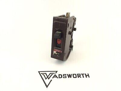 Wadsworth 15 Amp Circuit Breaker Nice Shape