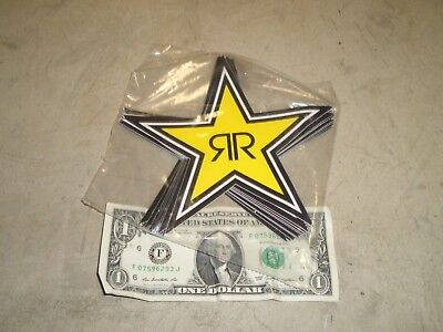 1~Authentic Rockstar Energy Drink Star Sticker Decal~Free Shipping