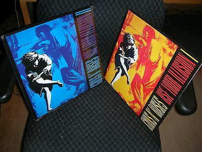 GUNS N' Roses **Use Your Illusion 1 & 2 **Brand New FOUR Record LP Vinyl (Guns N Roses Use Your Illusion 1)