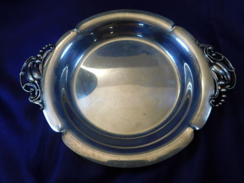 WEBSTER STERLING SILVER CANDY/TRINKET DISH #6606 - EXCELLENT CONDITION G
