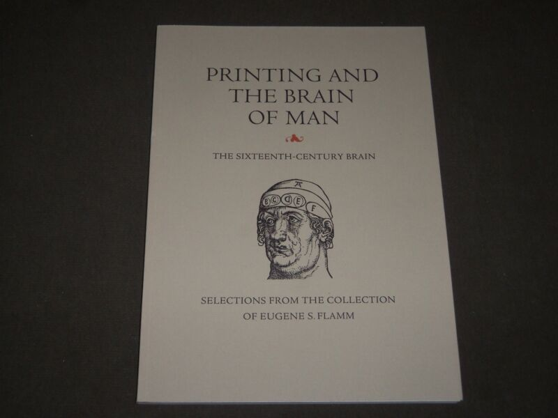 2011 PRINTING AND THE BRAIN OF MAN EUGENE S. FLAMM COLLECTION CATALOG - KD 5023