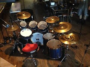 7pc Tama superstar limited edition royal blue