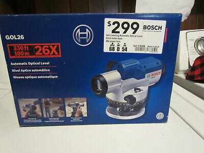 Bosch 26x Self-leveling 330 Feet Automatic Optical Level - Gol26