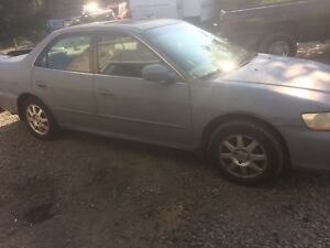 2002 Honda Accord 5 speed safety inspected $600