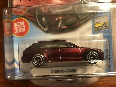2018 Hot Wheels '17 Audi RS 6 Avant Super Treasure Hunt